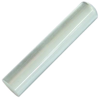 はんこ 認印 キューティーはんこ ホワイト φ12.0mm