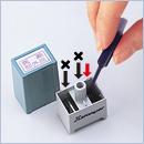シール用�・�型 インキ補充方法