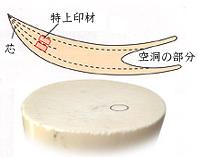 印鑑の材質:象牙(特上)について